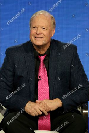 """Stock Picture of Bill Fagerbakke participates in the """"SpongeBob SquarePants"""" panel during the Nickelodeon presentation at the Television Critics Association Winter Press Tour at The Langham Huntington, in Pasadena, Calif"""