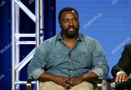 """Bashir Salahuddin participates in the """"South Side"""" panel during the Comedy Central presentation at the Television Critics Association Winter Press Tour at The Langham Huntington, in Pasadena, Calif"""