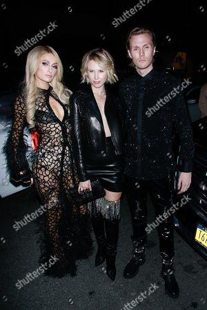 Paris Hilton, Barron Hilton II and Tessa Hilton