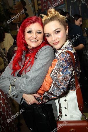 Julia Knight, Florence Pugh