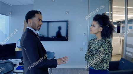 Andre Holland as Ray Burke and Zazie Beetz as Sam