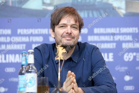 Stock Image of Ulrich Koehler attends the press conference of 'Panorama 40', for the 40th anniversary of the birth of the 'Panorama' festival programme, during the 69th annual Berlin Film Festival, in Berlin, Germany, 12 February 2019.