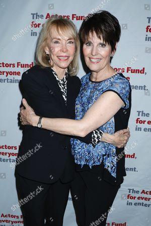 Elaine Joyce Simon and Lucie Arnaz