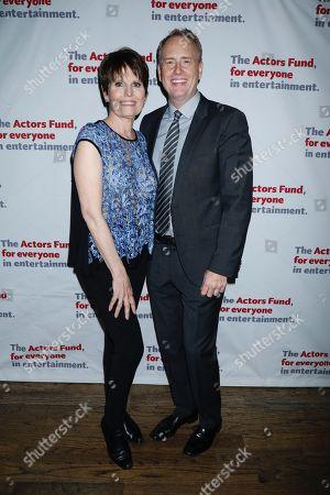 Stock Image of Lucie Arnaz and Bob Greenblatt