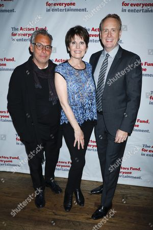 Stock Picture of Joe Mantello, Lucie Arnaz and Bob Greenblatt