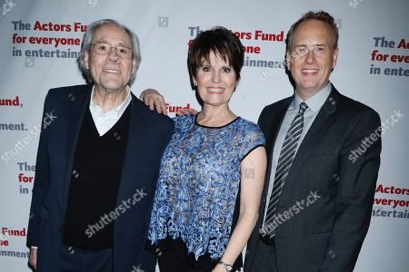 Robert Klein, Lucie Arnaz and Bob Greenblatt