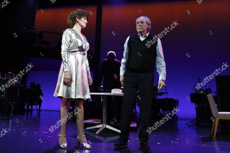 Lucie Arnaz and Robert Klein
