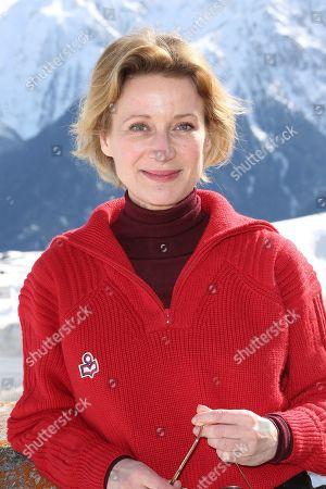 Astrid Whettnall - 'Tout Contre Elle' photocall