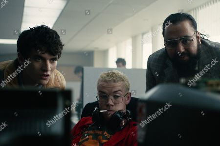 Fionn Whitehead as Stefan Butler, Will Poulter as Colin Ritman and Asim Chaudhry as Mohan Thakur