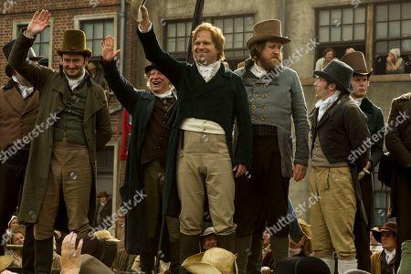 John-Paul Hurley as John Thacker Saxton, Ian Mercer as Dr. Joseph Healey, Rory Kinnear as Henry Hunt and Neil Bell as Samuel Bamford