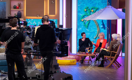 Phillip Schofield and Holly Willoughby with Jake Canuso and Sherrie Hewson