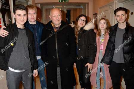 Steven Berkoff and guests.