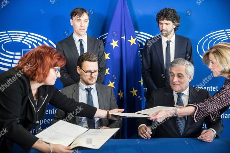 Editorial picture of EU, Strasbourg, France - 12 Feb 2019