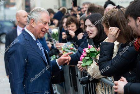 Prince Charles and Camilla Duchess of Cornwall visit Liverpool
