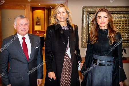 Queen Maxima visit to Jordan
