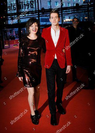 Stock Photo of Robert Naylor and Larissa Corriveau