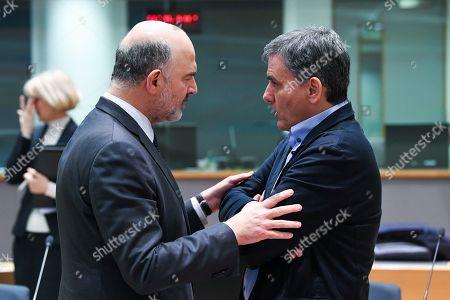 Pierre Moscovici, Euclid Tsakalotos
