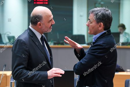 Editorial image of Eurogroup Finance ministers meeting, Brussels, Belgium - 11 Feb 2019