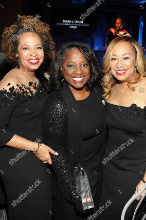 (L-R) Deryl McKissack (Honoree), LaTanya Richardson (Honoree) and Cheryl McKissack (Honoree)