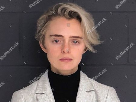 This, booking photo released by the Bristol County Sheriff's Office shows Michelle Carter, who was ordered Monday by a judge to start serving her 2017 sentence of 15 months in jail for her involuntary manslaughter conviction for sending a barrage of text messages urging boyfriend Conrad Roy III to kill himself. Roy took his own life in Fairhaven, Mass., in July 2014