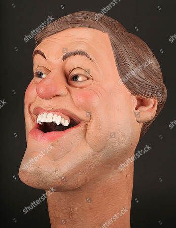 Stock Picture of Giles Brandreth Puppet