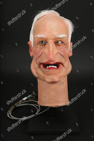 Stock Photo of Peter Snow Head