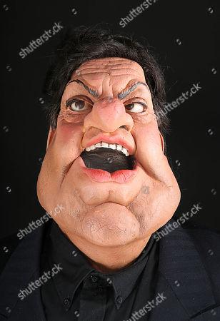Robbie Coltrane Puppet