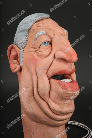 Editorial photo of Puppet heads - Jan 2019