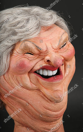 Stock Image of Claire Rayner Head
