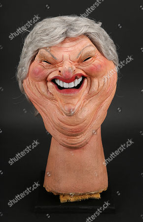 Stock Photo of Claire Rayner Head