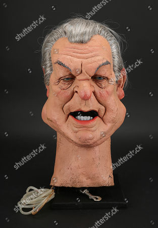 Stock Picture of Donald Sinden Head