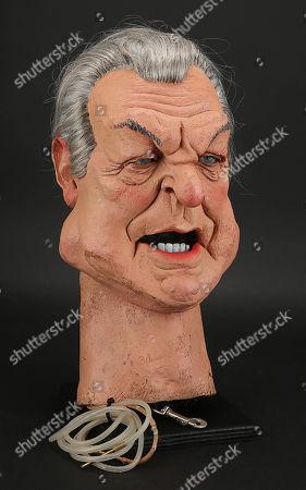 Stock Image of Donald Sinden Head