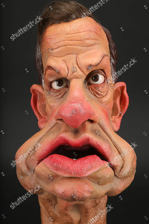 Stock Picture of Geoffrey Palmer Head