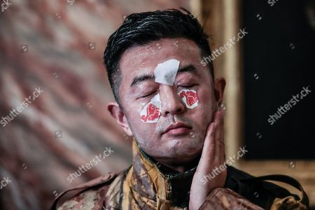 Editorial image of Celebration of Chinese new year with the artist Liu Bolin, Borghese Gallery, Rome, Italy - 07 Feb 2019