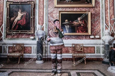 Editorial photo of Celebration of Chinese new year with the artist Liu Bolin, Borghese Gallery, Rome, Italy - 07 Feb 2019