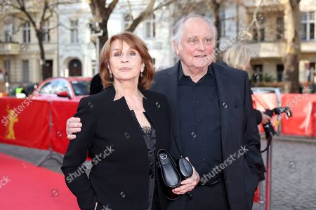 Stock Photo of Senta Berger and German director Michael Verhoeven arrive for the premiere of 'It Could Have Been Worse - Mario Adorf ' during the 69th annual Berlin Film Festival, in Berlin, Germany, 12 February 2019. The movie is presented in the Berlinale Special at the Berlinale that runs from 07 to 17 February.