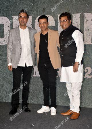 Actor Ranvir Shorey, Manoj Bajpayee and Ashutosh Rana