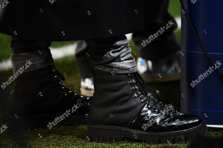 Stock Photo of Boots worn by former player Emmanuel Petit