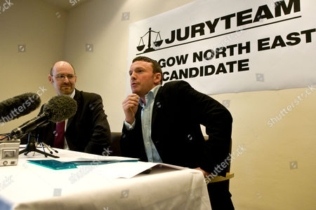 Alan Wallace, Scottish Chairman of the Jury Team, with John Smeaton