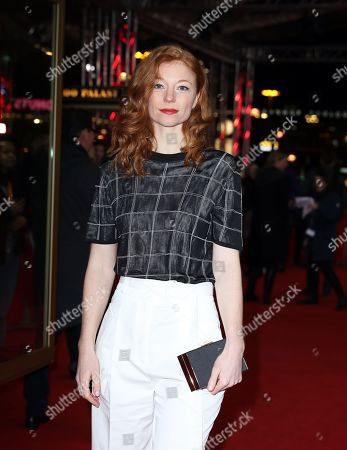 Marleen Lohse arrives for the premiere of 'M â?? A City Hunts a Murderer' (M â?? Eine Stadt sucht einen Moerder) during the 69th annual Berlin Film Festival, in Berlin, Germany, 12 February 2019. The movie is presented in the Berlinale Special Section at the Berlinale that runs from 07 to 17 February.