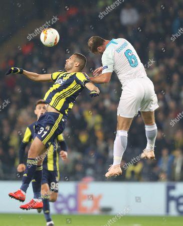 Editorial picture of Fenerbahce vs Zenit, Istanbul, Turkey - 12 Feb 2019
