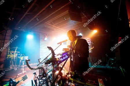 Editorial image of Robert Delong in concert at the Velvet Underground, Toronto, Canada - 10 Feb 2019