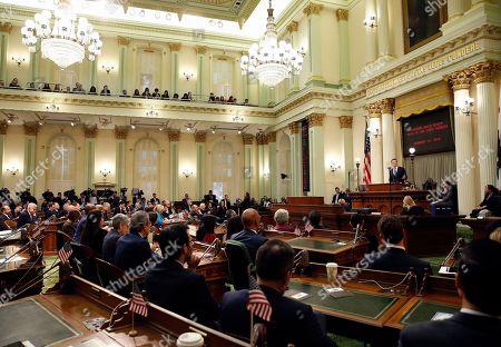 California Governor Gavin Newsom State State