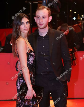 Kacey Mottet Klein (R) and Tam Slimani (L) arrive for the premiere of 'Farewell to the night' (L'Adieu a la nuit) during the 69th annual Berlin Film Festival, in Berlin, Germany, 12 February 2019. The movie is presented in the Official Competition at the Berlinale that runs from 07 to 17 February.