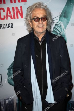 Luc Plamondon attends 'La Chute De L'expire Americain' (The Fall Of The American Empire) Paris Premiere At Cinema UGC Normandie on February 12, 2019 in Paris, France. //PIERREVILLARD_VILLAR0039/1902122239/Credit:PIERRE VILLARD/SIPA/1902122240