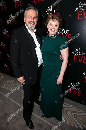 Stanley Townsend (Addison DeWitt) and Monica Dolan (Karen)