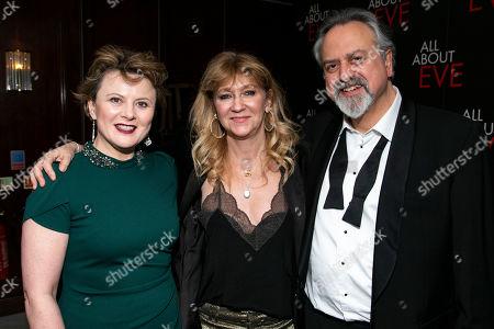 Monica Dolan (Karen), Sonia Friedman (Producer) and Stanley Townsend (Addison DeWitt)