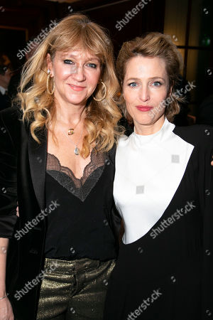 Sonia Friedman (Producer) and Gillian Anderson (Margo Channing)