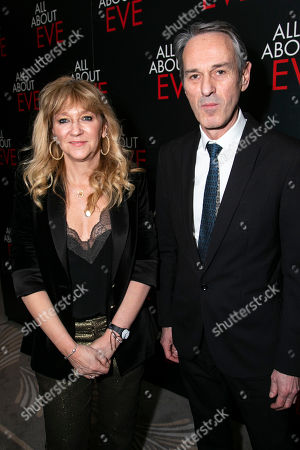 Stock Picture of Sonia Friedman (Producer) and Ivo van Hove (Director)