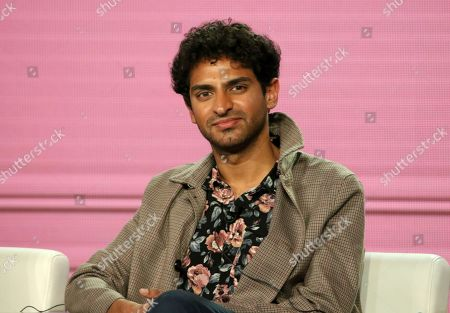 """Karan Soni participates in the """"Miracle Workers"""" panel during the TBS presentation at the Television Critics Association Winter Press Tour at The Langham Huntington, in Pasadena, Calif"""